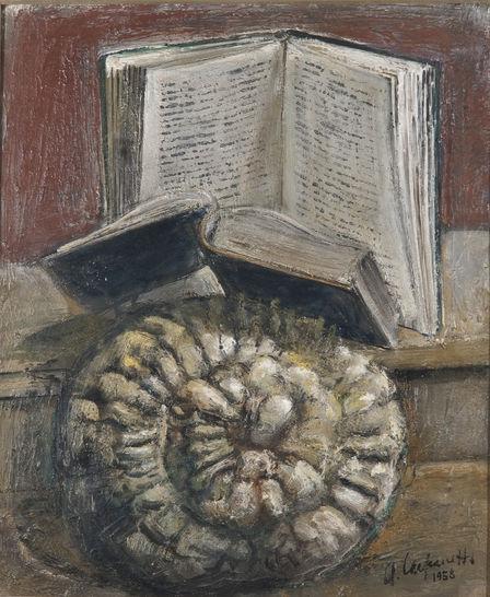 La fonte del sapere arnaldo carpanetti pittura arte for Portale camera