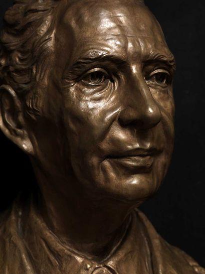 Aldo moro 1916 1978 mario colonna scultura arte for Diretta camera deputati