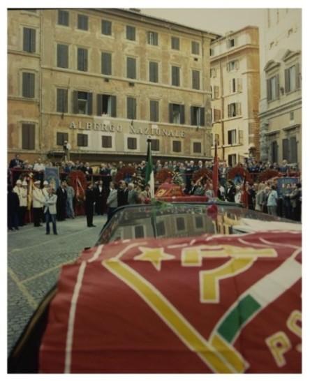 Funerali a piazza montecitorio di giancarlo pajetta 14 for Camera dei deputati archivio storico