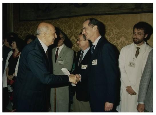 Il presidente giorgio napolitano incontra i dipendenti for Presidente dei deputati