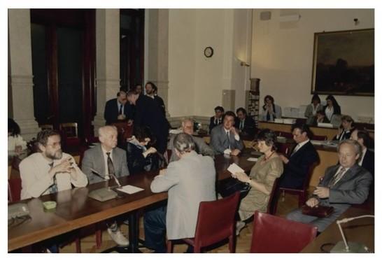 Il presidente della commissione affari costituzionali for Camera dei deputati archivio storico