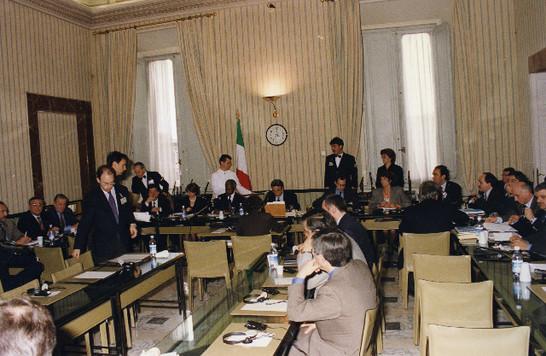 il presidente della commissione affari esteri della camera