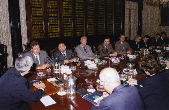 Visita di una delegazione di parlamentari tedeschi guidati for Vice presidente della camera dei deputati