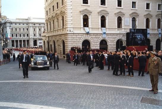 Visita di sua santit giovanni paolo ii al parlamento for Camera dei deputati archivio storico