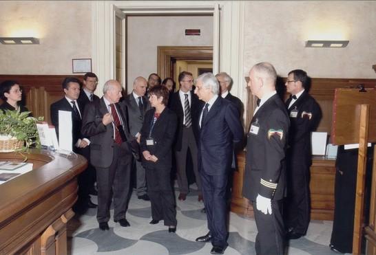 Inaugurazione del polo bibliotecario unificato della for Web tv camera deputati
