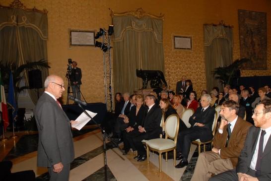 Cerimonia in occasione del giorno della memoria 24 for Ordine del giorno camera dei deputati