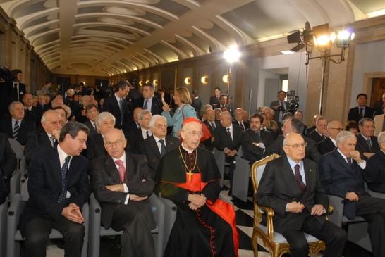 Cerimonia celebrativa del sessantesimo anniversario della for Camera dei deputati archivio storico