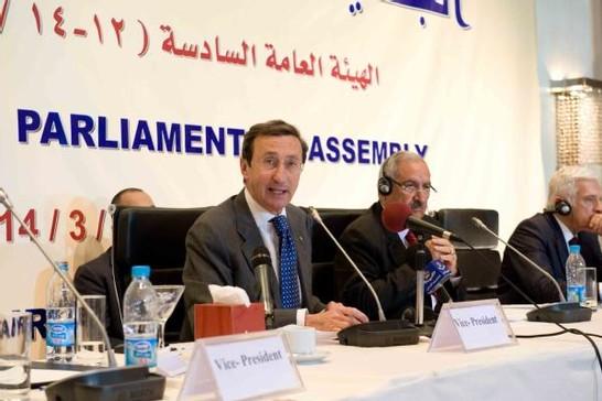Assemblea parlamentare euromediterranea 13 marzo 2010 for Vice presidente della camera dei deputati