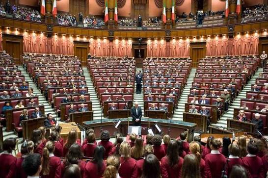 Concerto di natale del coro di voci bianche e del gruppo for Aula di montecitorio