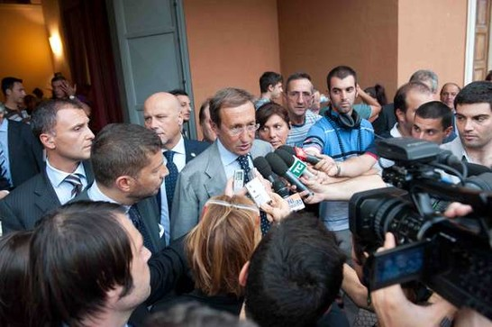 Visita alla fondazione villa maraini in occasione dei 35 for In diretta dalla camera dei deputati