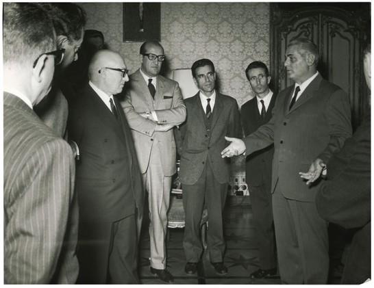 Auguri della stampa parlamentare 21 dicembre 1966 for Rassegna stampa camera deputati