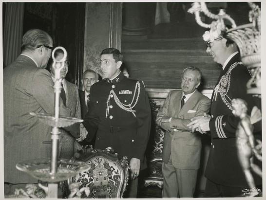 Visita di cortesia al segretario generale della camera dei for Camera dei deputati archivio storico