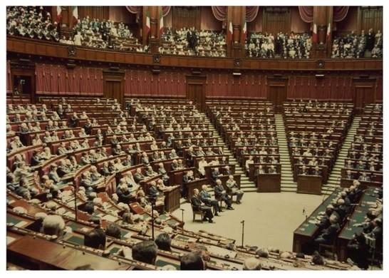 Discorso alla camera dei deputati del presidente cossiga for Camera dei deputati archivio storico