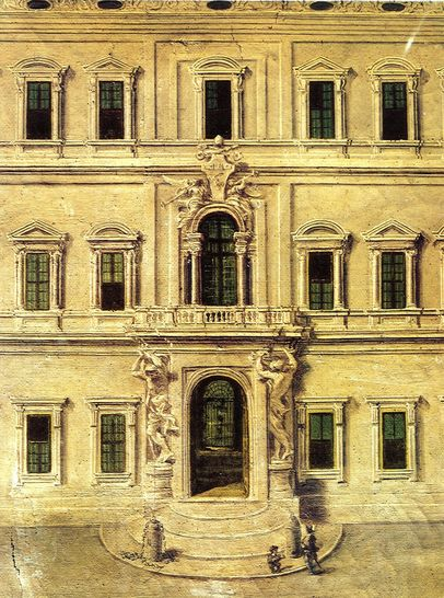 Particolare della tavola precedente stampe e dipinti del for Palazzo camera dei deputati