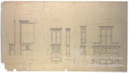 Specchiera armadio l 39 ampliamento del palazzo il for Lavori camera dei deputati