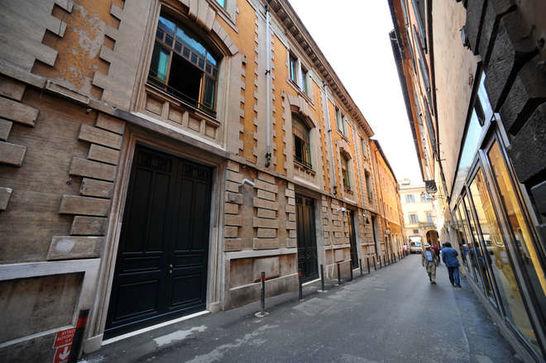 Esterni palazzo dei gruppi i palazzi della camera for Palazzo della camera dei deputati