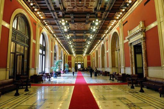 Transatlantico palazzo montecitorio i palazzi della for Parlamento in diretta