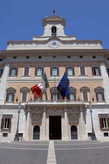 Esterni palazzo montecitorio i palazzi della camera for Biblioteca camera dei deputati