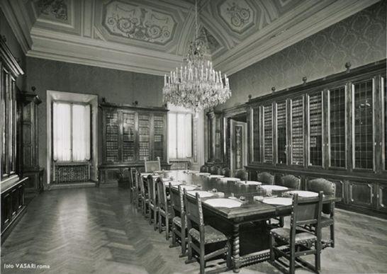 Biblioteca del presidente palazzo montecitorio i for Biblioteca camera dei deputati