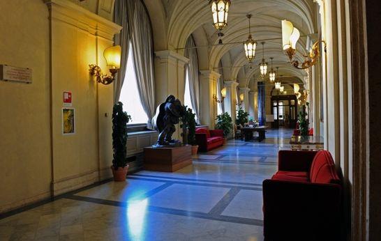 Galleria fontana palazzo montecitorio i palazzi della for Diretta camera deputati