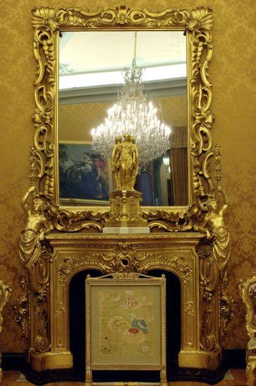 Sala aldo moro gi sala gialla palazzo montecitorio for Portale camera