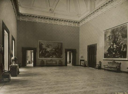 Sala della lupa palazzo montecitorio i palazzi della for Palazzo camera dei deputati