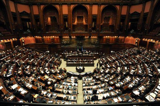 Aula palazzo montecitorio i palazzi della camera for Palazzo camera dei deputati
