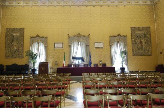Sala della lupa palazzo montecitorio i palazzi della for Diretta camera deputati