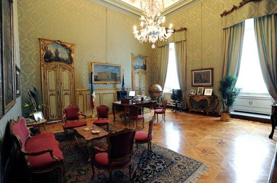 Studio del presidente palazzo montecitorio i palazzi for Camera dei deputati diretta video