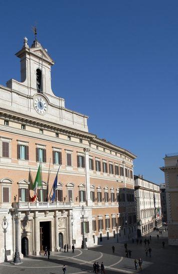 Esterni palazzo montecitorio i palazzi della camera for Diretta tv camera deputati