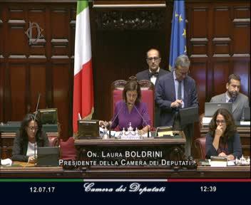 I video delle sedute dell'Assemblea a partire dalla XIII Legislatura
