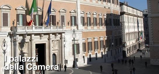 I palazzi della camera camera dei deputati portale storico for Camera dei deputati diretta video